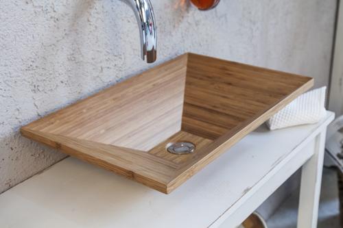 Lavandino legno d\'appoggio serie MADIA