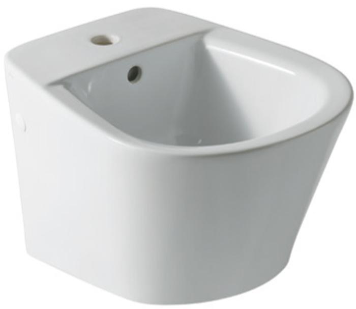 Bidet ceramica sospeso monoforo serie edge for Architec bidet sospeso