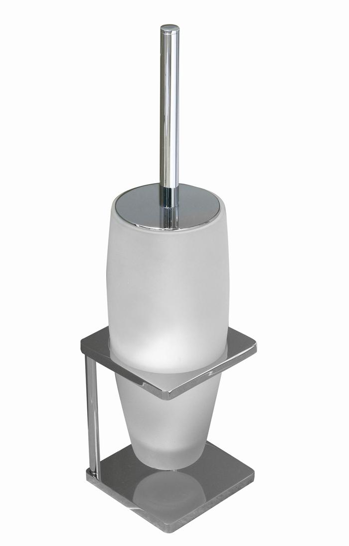 Brass Free Standing Toilet Brush Holder Saron Series
