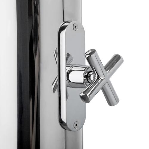 Colonna doccia per esterno acciaio inox serie astro - Doccia per esterno ...